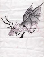 Unfinished Insect Dragon by nelson1990