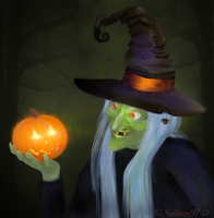 Mad Witch by SuliannH
