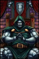 dr doom by logicfun