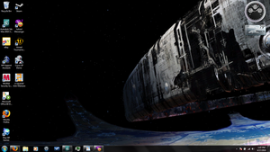 My new desktop by Robotlouisstevenson