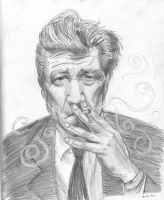 David Lynch by breegeek