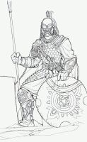 Rohirrim initial pencils by witchking08