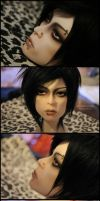 Face-up: DIM Kyo of Dir En Grey Minimee by asainemuri