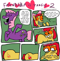 Friendship Is Tragic 2 by EggHeadCheesyBird