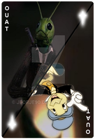 OUAT Card Jiminy Cricket by jeorje90