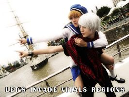 Let's invade vitals regions by Soubixcos