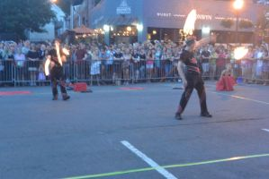 Ignite the Night Fire/Food Fest,Twirl Bounce Flame by Miss-Tbones