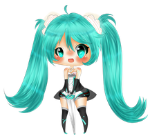 Good Smile Racing 2011 Miku by TriSarahTopss