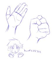 Quick Reference: Hands by Kenny-Artist