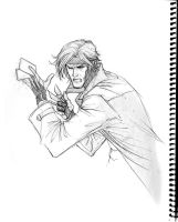 Gambit sketch by 0boywonder0