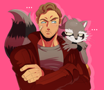Peter and Rocket by ss2sonic