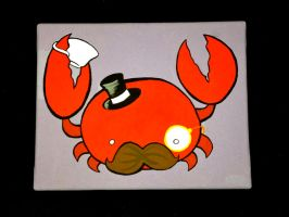 Dapper Crab by SarahRuthless