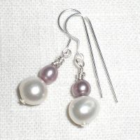 Lilac and White Pearls by misticloudz