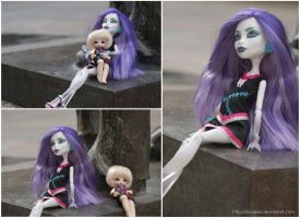 Spectra and Eva by MySweetQueen-Dolls