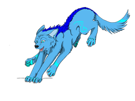 Techo canine by Wolfiesprite