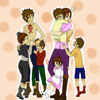 Gift: Spain + Romano: Family by Bad-Touch-Tomato
