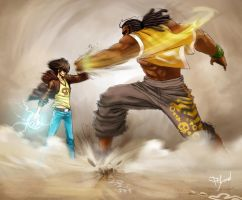 The Bocal Fighting by Pyroow