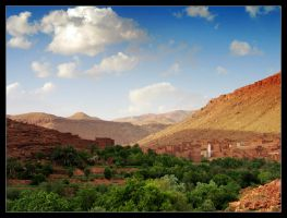 Little Village in Morocco by petrus78