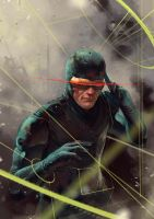 Danger Room: Cyclops by OSCARROMER