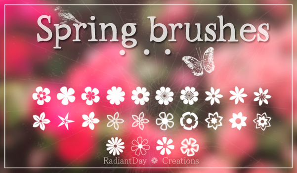 Spring Brushes || Clari by RadiantDay