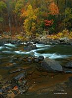 Russell Fork River 3 by TRBPhotographyLLC