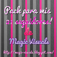 pack de 21 seguidores Magic Visuals by Montsecyrus