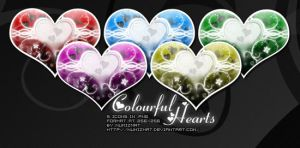Colourful Hearts by Numizmat