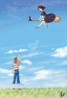 Rendezvous in the Sky by Laine-O
