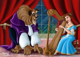 BEAUTY AND THE BEAST by FERNL