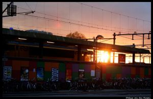 Sunset At Utrecht by wingedLizz
