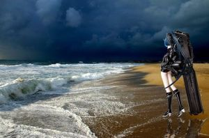 Black Rock Shooter by Teamyx
