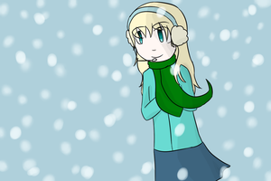 OH YEAH SHE LOVE DAT SNOW by Youkah