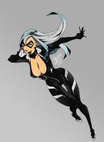 Black Cat - AMAZING Re-designs by theSN3S
