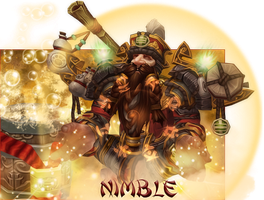 Nimble Chat Cover - World of Warcraft by ginnypinny