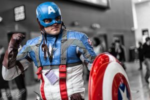 Captain America - LSCC 2013 by methosivanhoe
