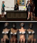 Before and After - Secretaries by caljedi1