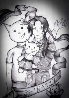 Hetalia: China and Shinatty-Chan by EbonyEagle