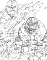 Raam and 73 sketch by Drakoniawar