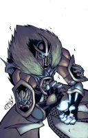 Deception-Sub Zero coloured by DawidFrederik