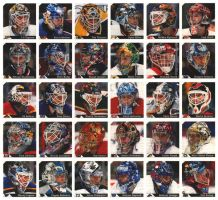 Goalie Masks by MMercenary