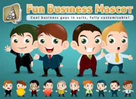 Business Mascot Creation Kit by LouisDavilla