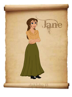 Western Disney - Jane by daKisha