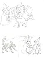 Fun with Tarita's team - scetch by PlatinaSena