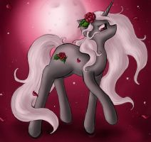 Roses in the Wind by SpectralPony
