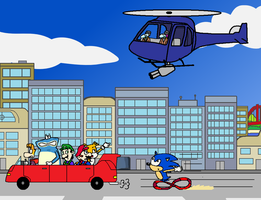 Car Chase (Redesigned) by Mighty355