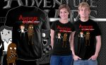 Adventure Wars shirt by jeff-aka-stray