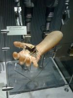 Star Wars the Exhibition - Luke's prosthetic hand by Jazzlednightmare16