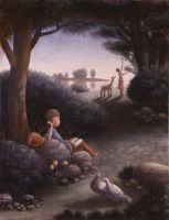 A couple of doves by perodog