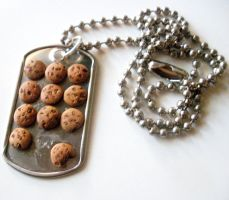 CHOCOLATE chip COOKIE tray by LittleCalorieGallery