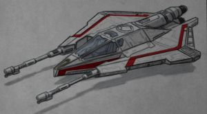 Star Wars Incom T20 H-Wing by AdamKop